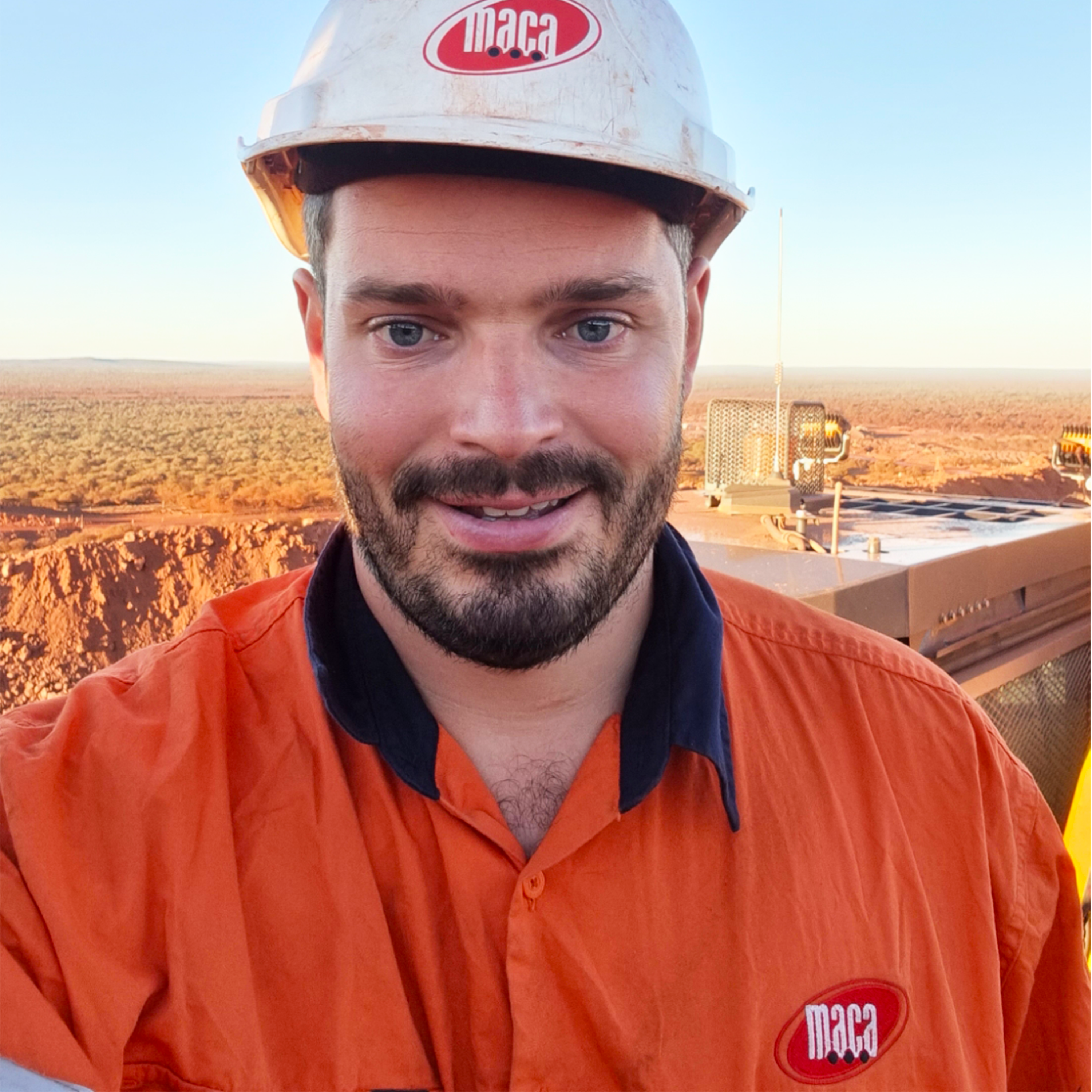 <em>Hayden Hilton</em> - Hired, Up-Skilled, graduated and successfully working as a Heavy Mobile Plant Technician at NRW Mining & Civil 1